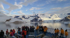 history of tourism to antarctica
