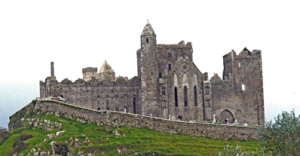 the rock of cashel and the castle