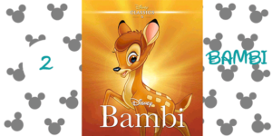 top 10 disney movies 2) Bambi (1942)