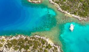 tourist attractions in turkey bay of kekova