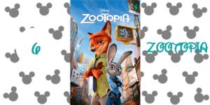 6) Zootopia (2016)