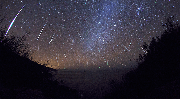 Orionid meteor shower 2017 Australia