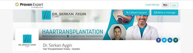 Dr. Serkan Aygın Hair Transplant Reviews
